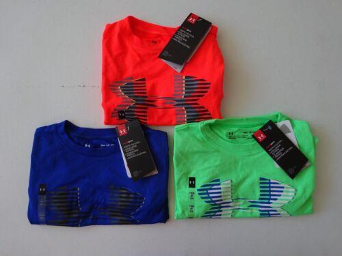 Under Armour Boy/'s Tech Big Logo Solid Short Sleeve Tee NWT 2018 Summer