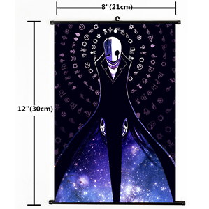 Hot Japan Anime Game Undertale Home Decor Wall Scroll Cosplay 1535