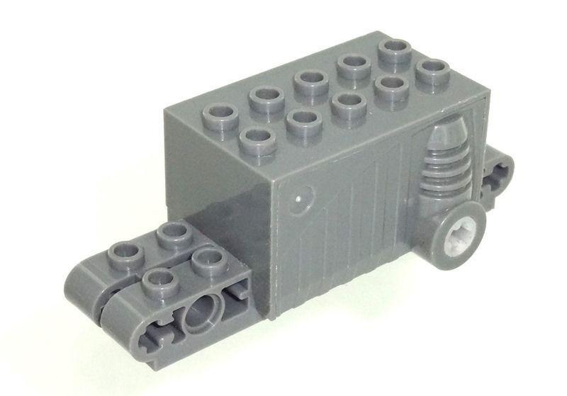 Lot x2 Lego Brique technique 1x10 4.9 NOIR BLACK technic brick 273026-2730