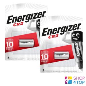 2 ENERGIZER CR2 LITHIUM BATTERY 3V ELCR2 CR17355 1CR2 DLCR2 EXP 2027 NEW