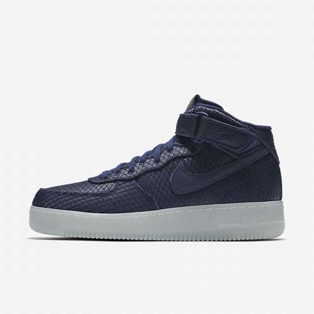 Hombre NIKE FORCE 1 Mid'07 LV8 AIR binario Zapatos  binario AIR Azul 804609 401 18b587