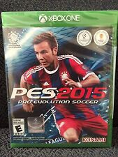 New/Sealed - Pro Evolution Soccer 2015 (Microsoft Xbox One, 2014) PES 2015 UPC
