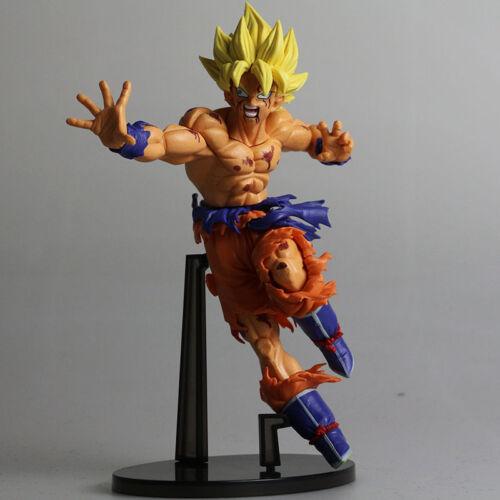 """Japan Anime Dragon Ball Z Son Gokou 18cm//7.1/"""" Super Saiyan Model Figure Toy"""