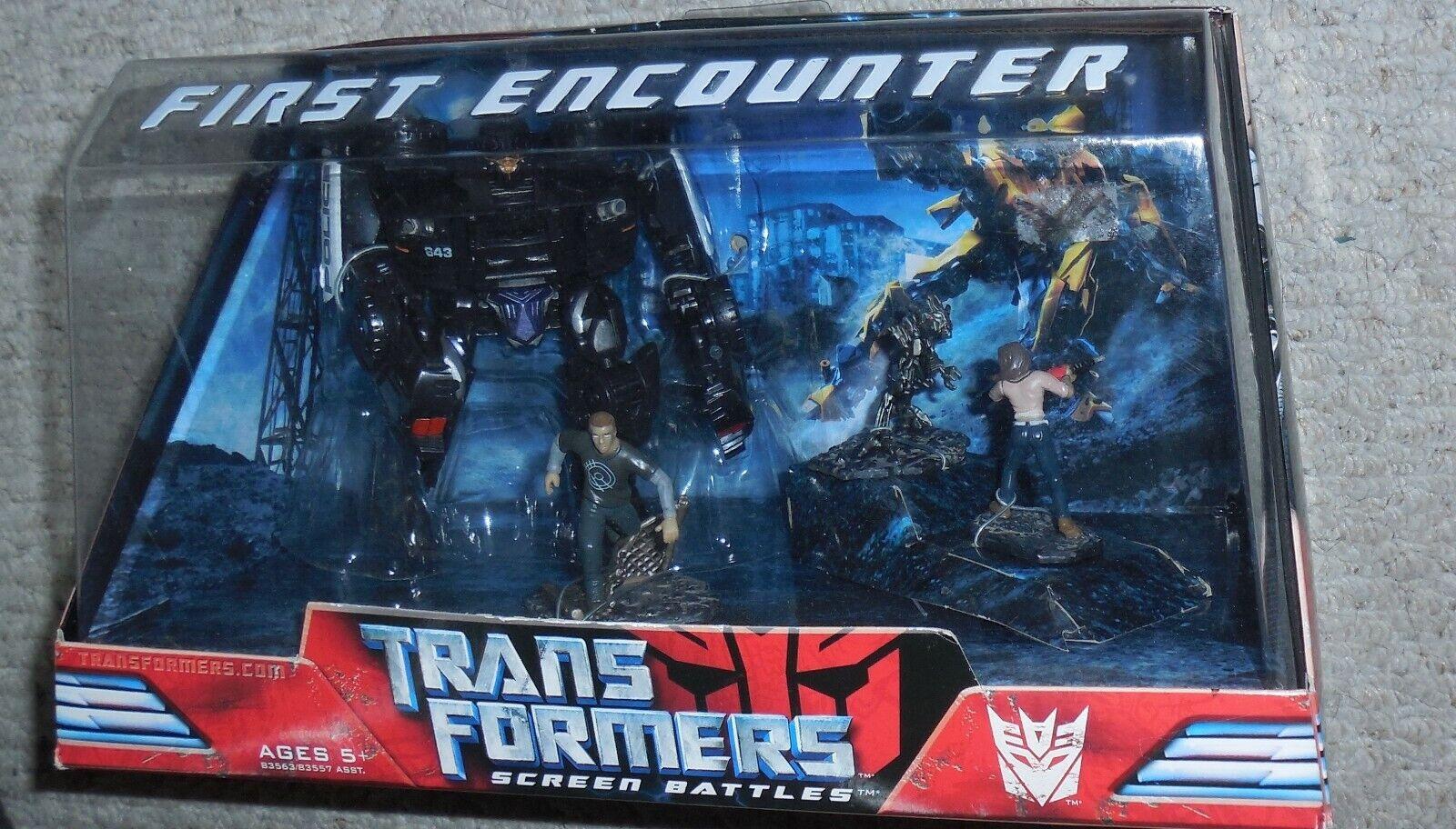 cómodamente Transformers Transformers Transformers Película Pantalla Batallas First Encounter Misb Nuevo Barricada  envío gratuito a nivel mundial