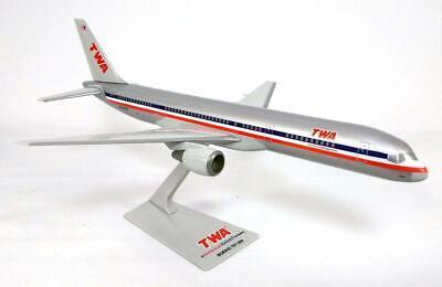 Flight Miniatures TWA American Airlines Trans World AA 2001 Merger 717 REG#N2427A Display Model w//Stand
