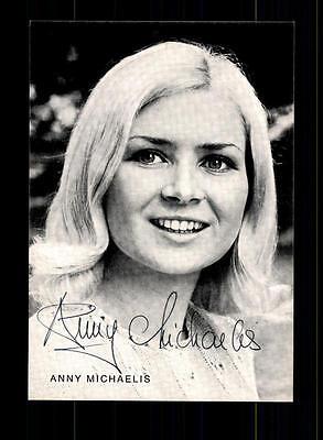 Sammeln & Seltenes GemäßIgt Anny Michaelis Autogrammkarte Original Signiert ## Bc 78322
