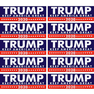 10X-Donald-Trump-For-President-2020-Make-America-Great-Again-Car-Stickers-Decal