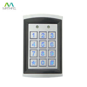 Beruhrungslos-RFID-Zugangssystem-Metall-Codeschloss-Zutrittskontrolle-IP66