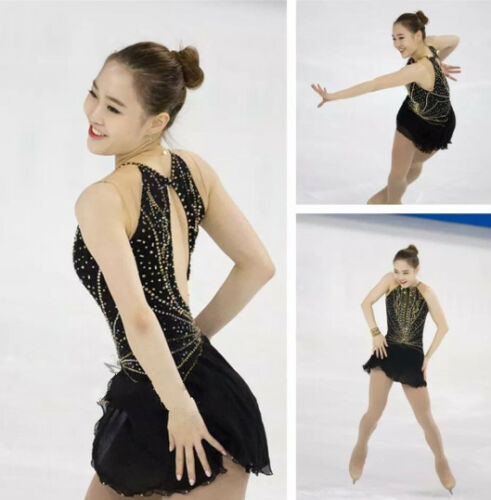 girls  ice skating dress custom figure skating dresses for women A812