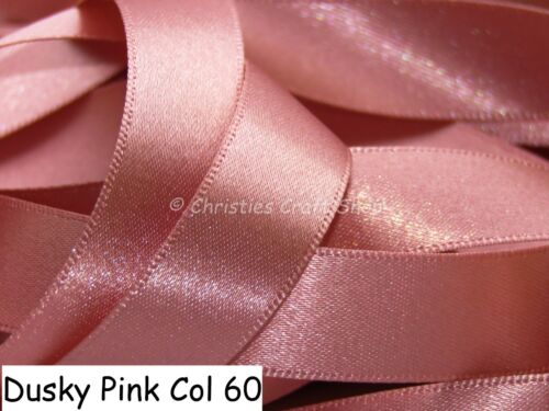 Berisfords Double Faced Satin Ribbon Choice of Colour and Width BULK REELS