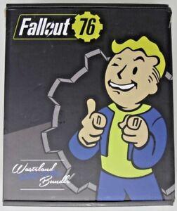 Details about Fallout 76 Wasteland Survival Bundle Pip-Boy Journal, Light  Up Vault Boy + More!