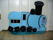 HAND MADE,TRAIN WITH SQUARE WHEELS FROM RUDOLPH STORY. CHRISTMAS YARD ART