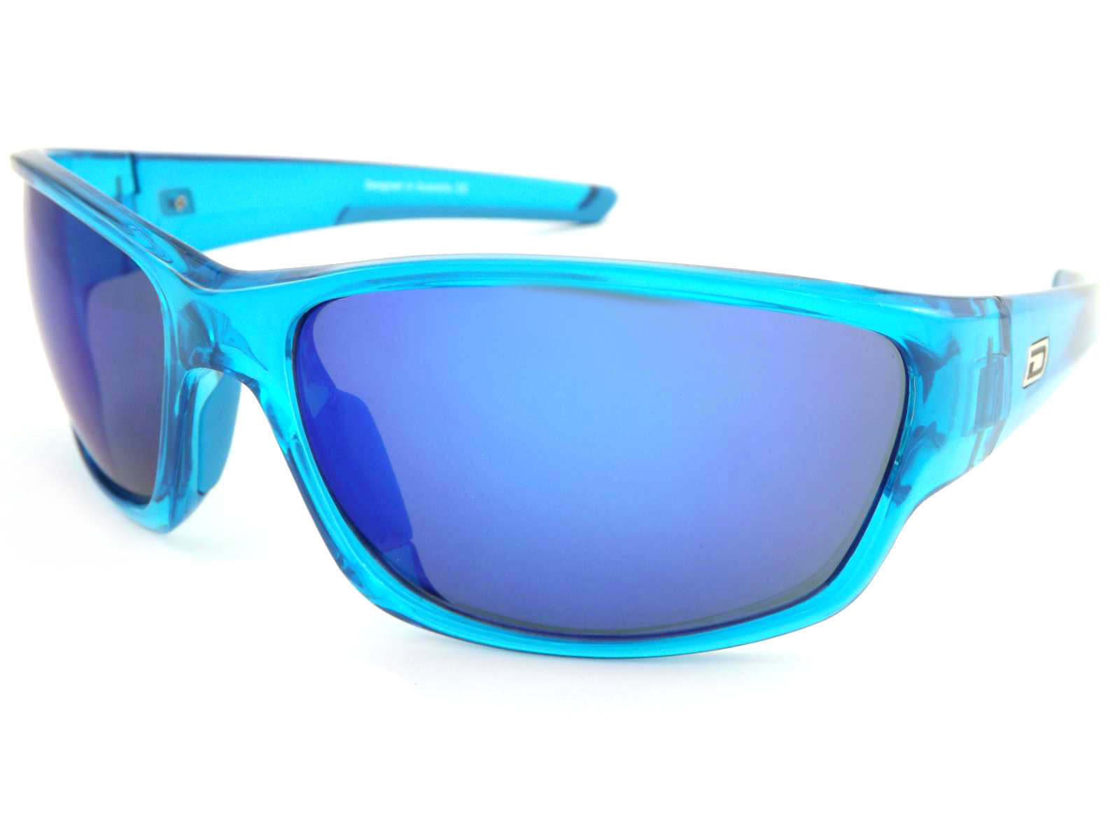 DIRTY DOG - CHAIN Sunglasses Crystal Blau  Ice Blau Mirror Lenses 58072 | Export