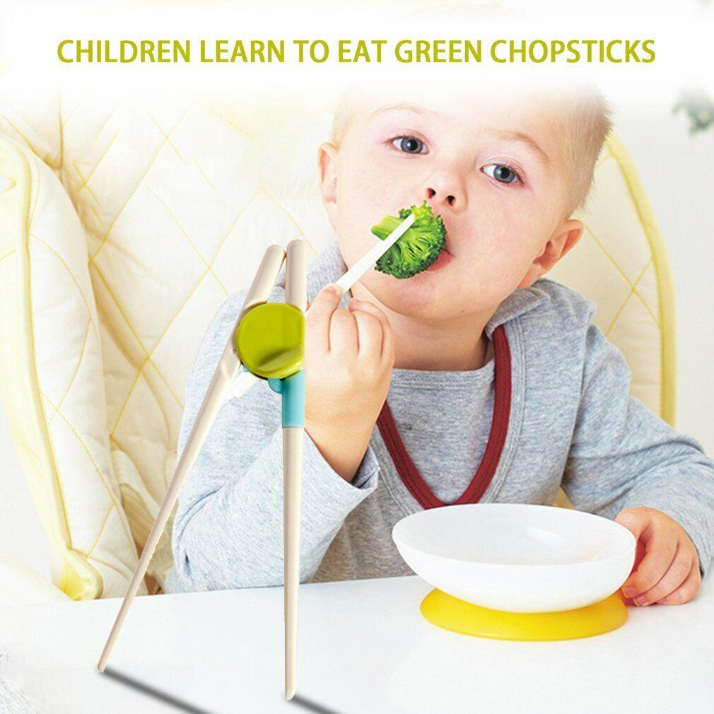 Kids Children Enlightenment Learning Chopstick Training Education Chopsticks