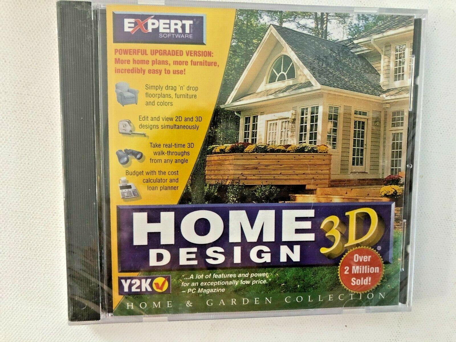 Expert Software Home 3d Design 1999 Windows 95 98 Unopened For Sale Online