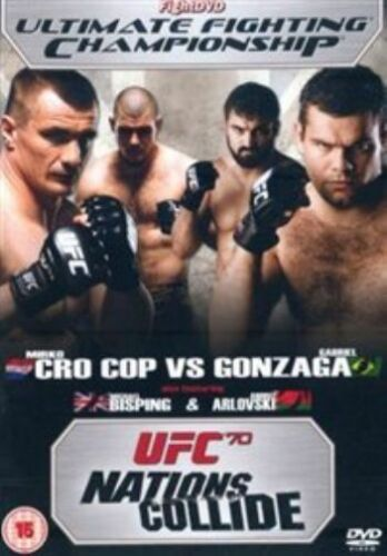 1 of 1 - UFC Ultimate Fighting Championship - 70: Nations Collide  DVD NEW SEALED FREEPOS