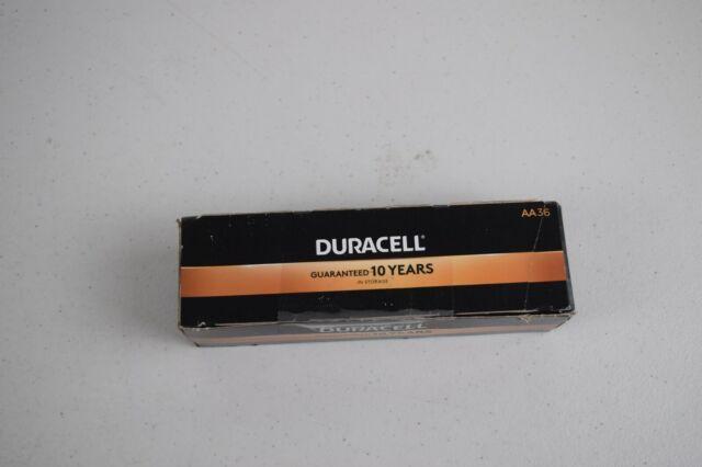 Duracell Coppertop AA Alkaline Batteries, Pack Of 36