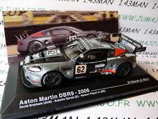 1/43 IXO Altaya Passion vitesse GT  ASTON MARTIN DBR9 24 H Mans 2006 Brabham