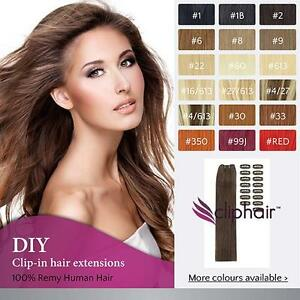 Premium-DIY-Clip-in-Remy-Human-Hair-Extensions