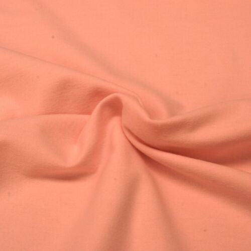 Plain Flanelle Tissu-Rose Bébé - 100% COTON FLANELLE-Demi Mètre