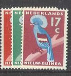 Ned-Nieuw-Guinea-54-56-vogels-birds59-luxe-postfris-MNH