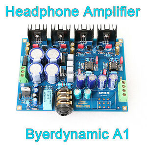 Assembled-A1-Headphone-Amplifier-Board-Refer-Beyerdynamic-A1-Amp-Head-Fi-For-DIY