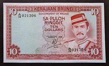 Brunei - 10 Ringgit - 1986