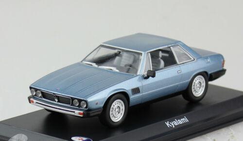 Maserati kyalami plata azul 1976 1:43 maqueta de coche