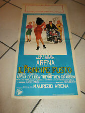 LOCANDINA 1960  IL PRINCIPE FUSTO -MAURIZIO MAURIZIO ARENA,MOTO,AUTO