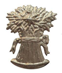 Wheatsheaf Nickel-Plated Symbol For Orange Order Collarette