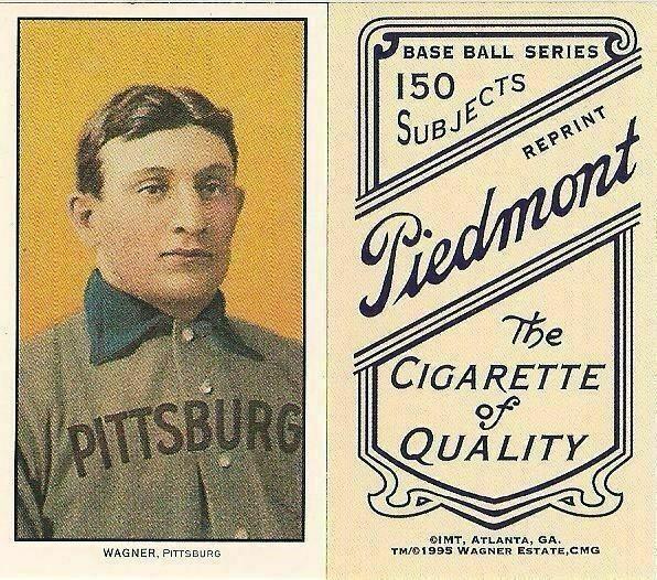 HONUS WAGNER ~ Lot of 1000 1909 T-206 Tobacco Baseball Card Reprint ~ 1,000 Mint