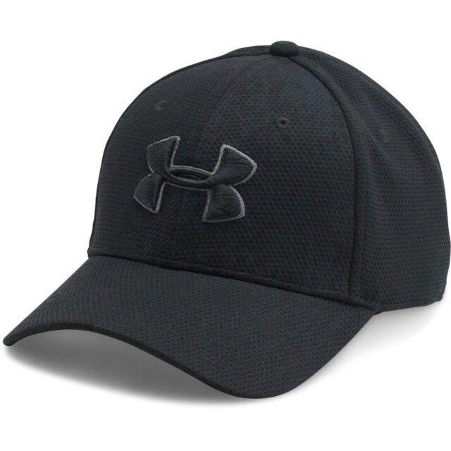 c55deeb6cb5 Under Armour Men Hats UA Printed Blitzing Stretch Fit Cap Black L-xl ...
