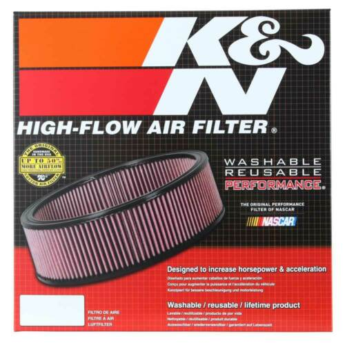 KN Round Replacement E-2900 K/&N Replacement Air Filter DATSUN 24OZ,26OZ 1973-74