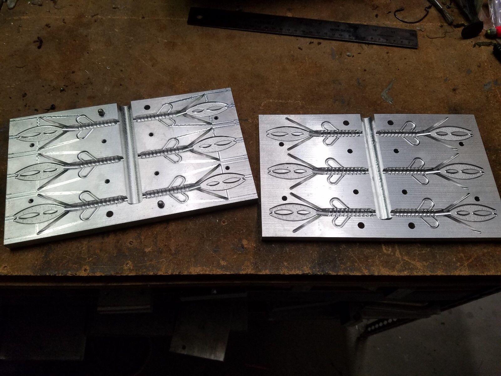 Superior Bump Hog 6 Cavity Made By CNC Molds N Stuff