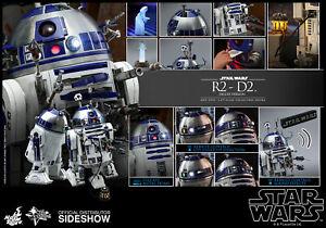 Hot-Toys-Star-Wars-R2-D2-dexlue-Version-1-6-Scale-Diecast-figure-en-Stock