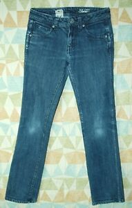Well-Worn-LOW-Rise-Tight-Skinny-Fit-VOLCOM-Stone-2-x-4-Youth-Jeans-Waist-26-12