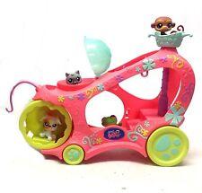 THE LITTLEST PET SHOP Mobile Playset & figure set , cats & dogs Good condition