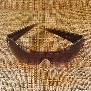 Relic Cara Womens Black Shield Sunglasses Rhinestones WS6136 060 140 15-115