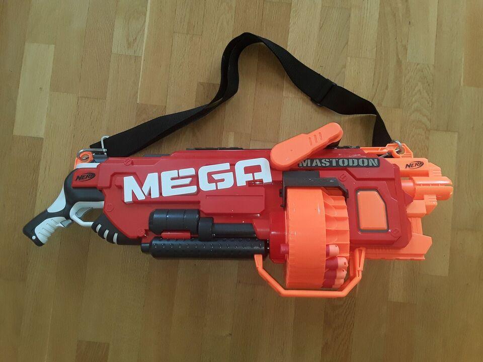Våben, Mega mastodon, NERF