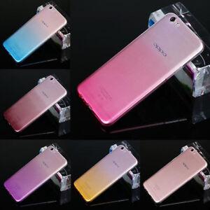 brand new 05122 c04a2 Details about For Oppo R7 R7S R9 R9S Plus F1s F5 Ultra Thin Gradient Clear  Gel Skin Case cover