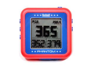 Bushnell Golf Phantom GPS. Red, with Bite Magnet, Handheld Certified Refurbished