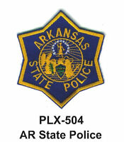 Ar State Police (state Police) Embroidered Patches 4