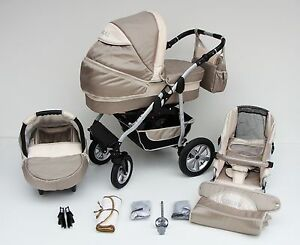 coral kombikinderwagen kinderwagen set mit maxicose und. Black Bedroom Furniture Sets. Home Design Ideas