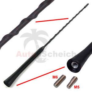 Antenne-Dachantenne-KFZ-Autoantenne-16V-Stabantenne-Kurz-Adapter-Autoantenne