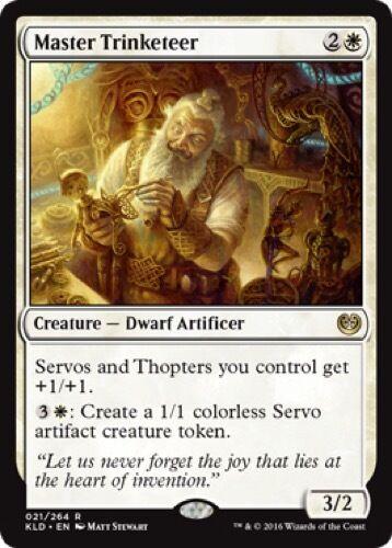 Rare - Kaladesh 021//264 Master Trinketeer