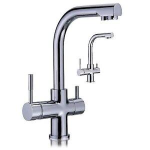 robinet 3 voies pour filtre eau par osmose inverse 3 way faucet ro water ebay. Black Bedroom Furniture Sets. Home Design Ideas