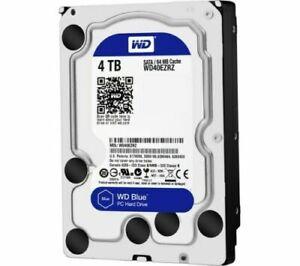 "1 Blu Western Digital 2 3 4TB SATA 6Gb/s 3.5"" hard disk WD Blu"