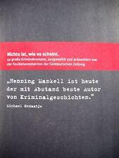 10 x Kriminalbibliothek Süddeutsche Zeitung  - NEU Nr. 3 Bücherpaket Sammlung