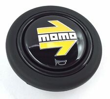 Genuine Momo steering wheel horn push button. BRAND NEW. Also fits Sparco, OMP.