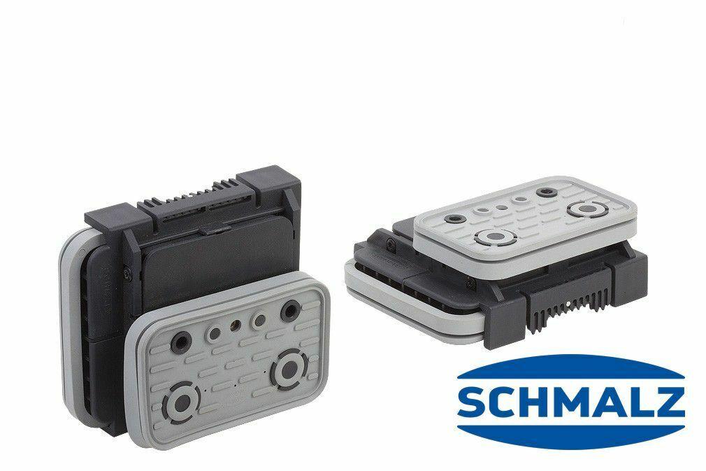 Schmalz Blocksauger VCBL-K2 125 x 75 mm, Höhe 50 mm, längs für Schmalteile